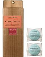 I Coloniali - Effervescent Bath Tablets with Ginseng