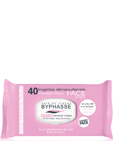Byphasse - Make-up Remover Wipes Milk Proteins All Skin Types