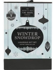 Scottish Fine Soaps Winter Snow Drop Luxurious Gift Set. Фото 1