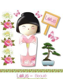 Kokeshi Lotus. Фото 1