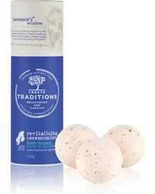 Treets Traditions - Revitalising Ceremonies Bath Fizzers
