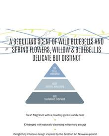 Scottish Fine Soaps Willow & Bluebell Luxury Soap. Фото 1