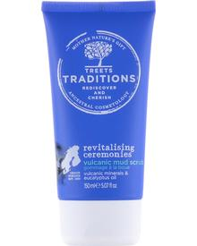 Treets Traditions - Revitalising Ceremonies Volcanic Mud Scrub