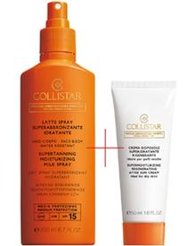 Collistar - Supertanning Moisturizing Milk Spray SPF 15 + After Sun Cream