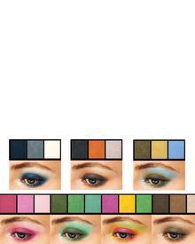 Shiseido Luminizing Satin Eye Color Trio. Фото 3