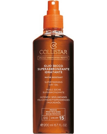 Collistar - Supertanning Dry Oil SPF15