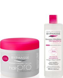 Byphasse - Hair Pro Hair Mask Color Protect Coloured Hair Set