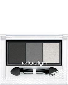 Misslyn - High Shine Trio Eyeshadow