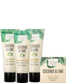 Scottish Fine Soaps Coconut & Lime Luxurious Set. Фото 2