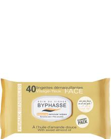 Byphasse - Make-up Remover Wipes Sweet Almond Oil Sensitive Skin