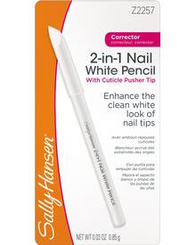Sally Hansen - 2-in-1 Nail White Pencil