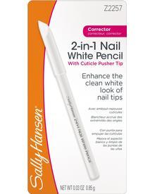 Sally Hansen - 2-in-1 Nail White Pencil