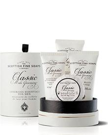 Scottish Fine Soaps - Classic Male Grooming Essentials Gift Set