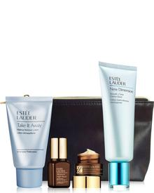 Estee Lauder - New Dimension Smooth + Tone Creme-Glove Set