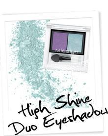 Misslyn High Shine Duo Eyeshadow. Фото 2
