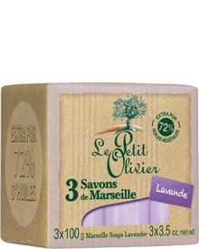 Le Petit Olivier - 3 Savons de Marseille