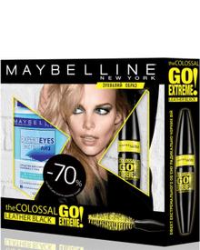 Maybelline - Подарочный набор The Colossal Leather Black