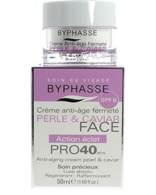 Byphasse Anti-aging Cream Pro40 Years Pearl And Caviar. Фото 1