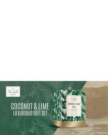 Scottish Fine Soaps Coconut & Lime Luxurious Set. Фото 1