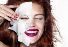Быстрый эффект: выбираем маски для лица.