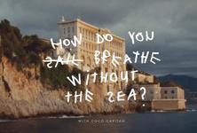 Як ми будемо дихати без океану: екоколаборація Biotherm і художниці Coco Capitan.