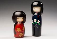 Кокеши - японские куклы-талисманы!
