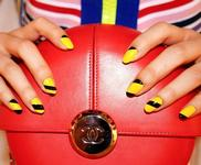 10 роскошных и простых идей геометрических ногтей!