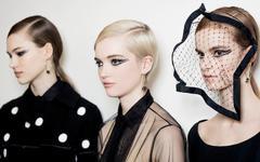 Макияж на показе Christian Dior Haute Сouture весна-лето 2018.