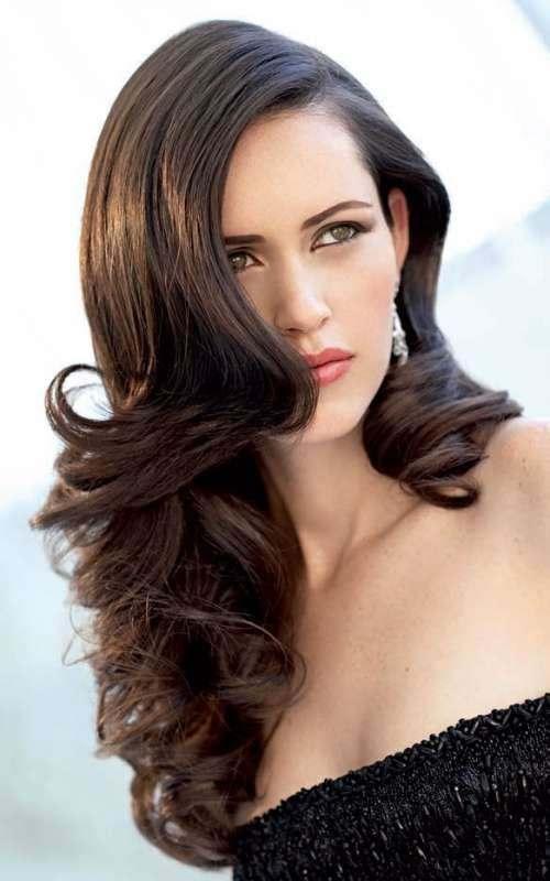 Укладка из длинных волос