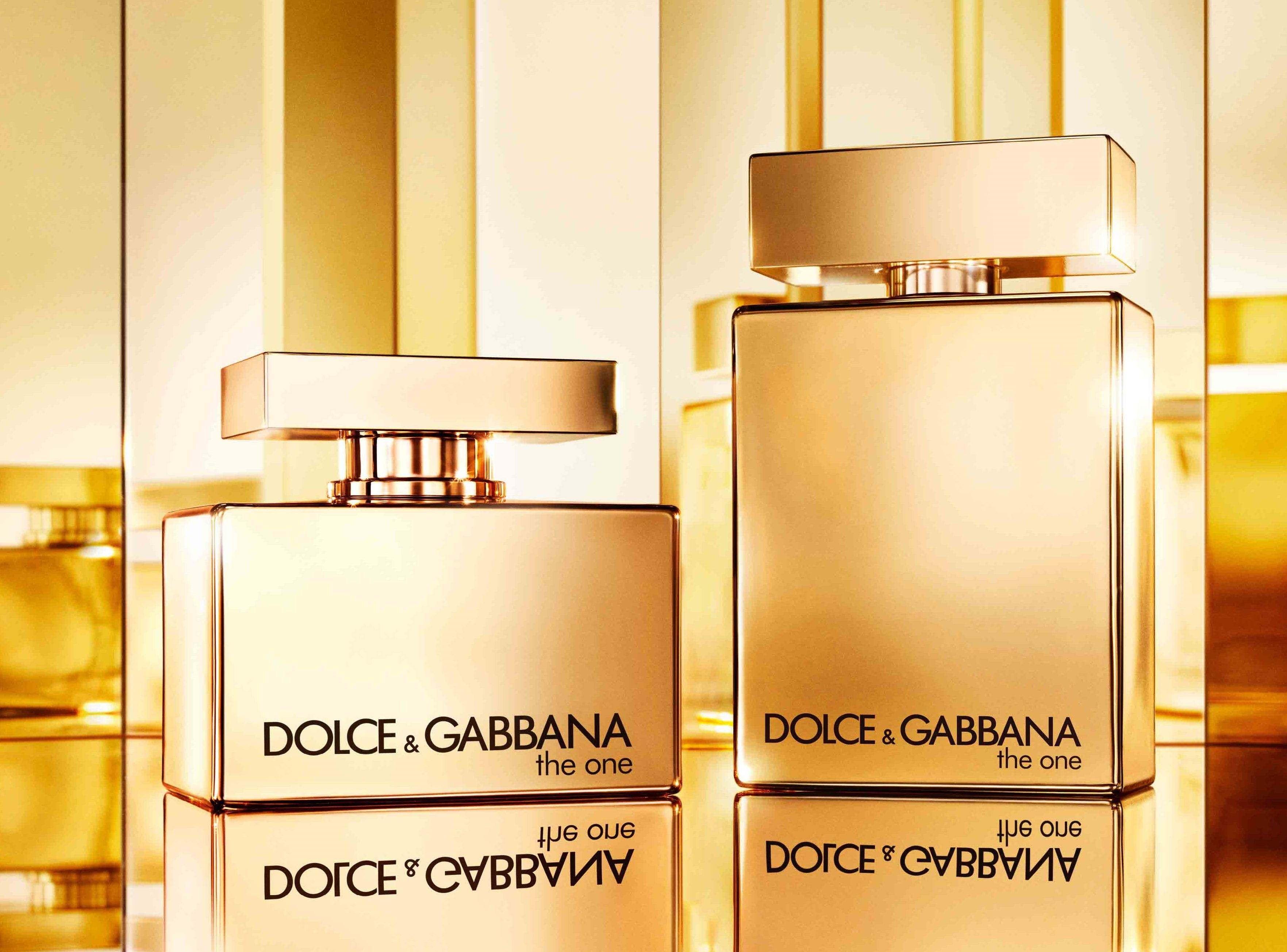 Новий золотий дует Dolce & Gabbana The One Gold.