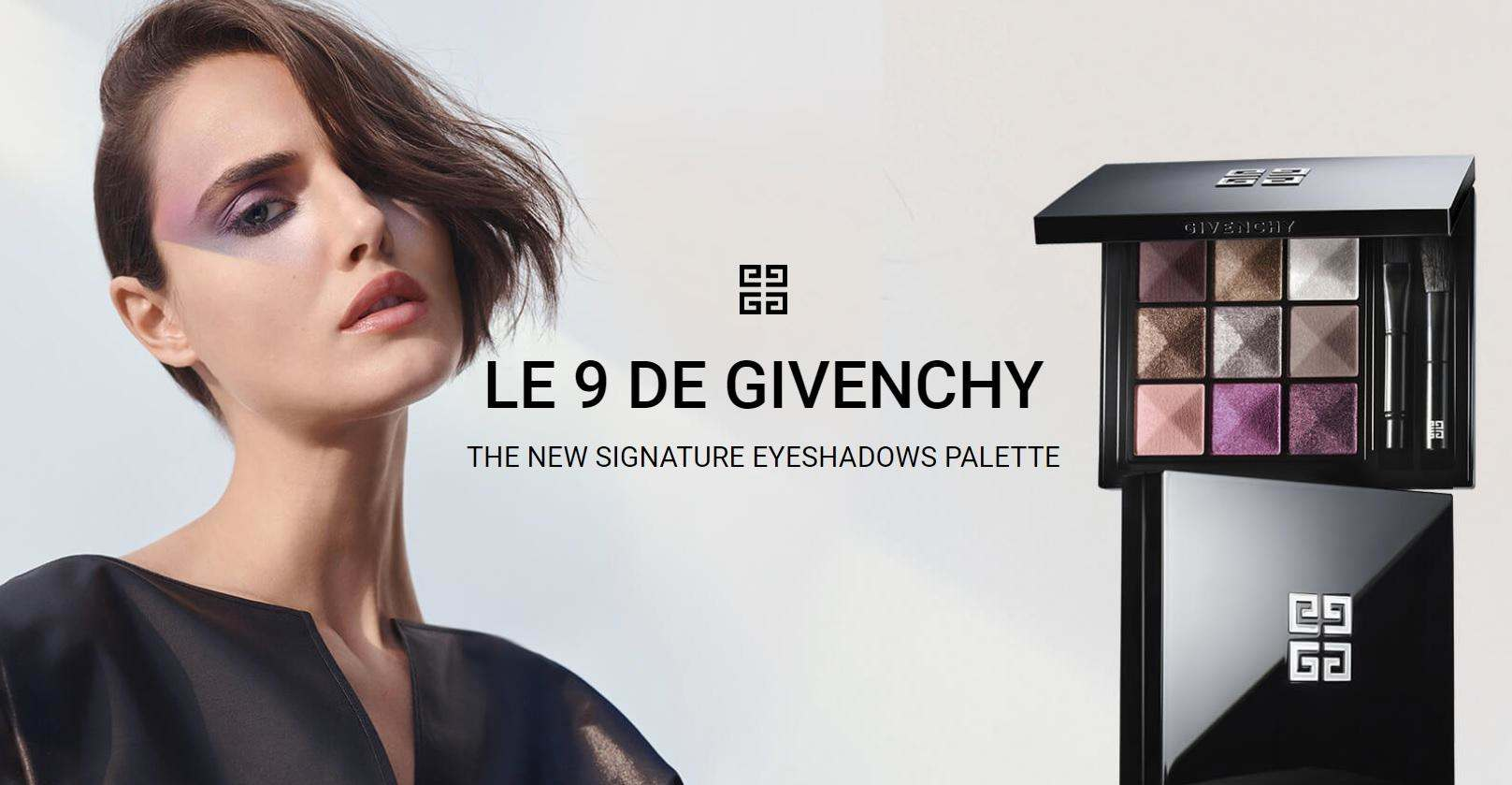 Незабаром! Феєрія кольору від Givenchy: нові палетки тіней для повік Le 9 De Givenchy Couture Eye Palettes!