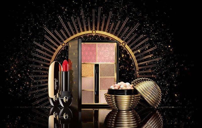 Рождественская коллекция Guerlain Gold Ball Makeup Collection 2017.