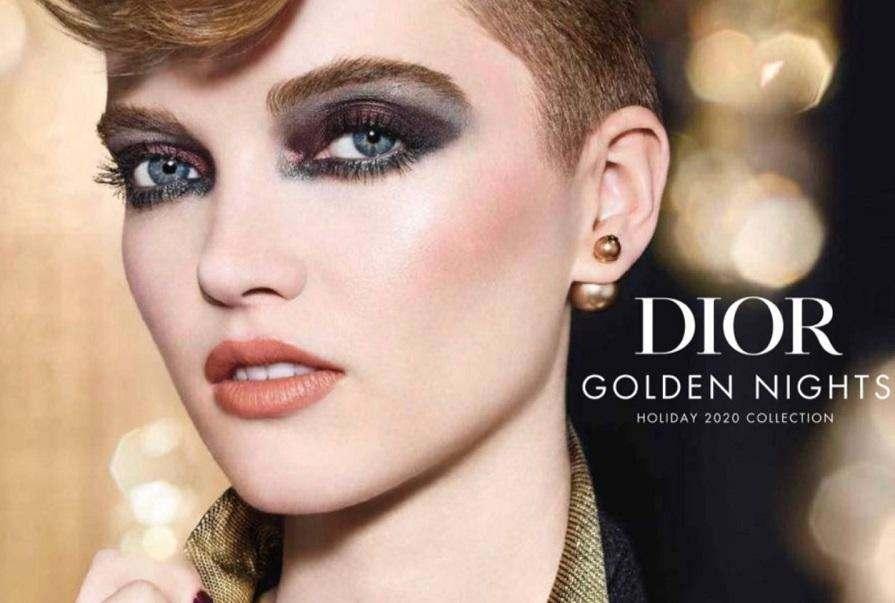 Незабаром! Різдвяна колекція макіяжу Dior Golden Nights.