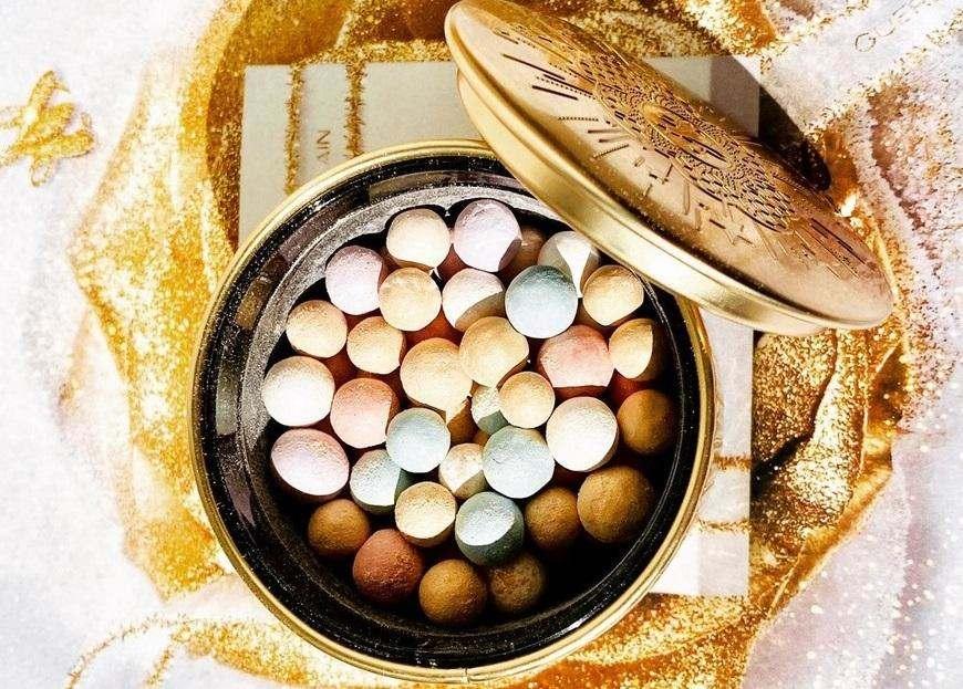 Різдвяна колекція Guerlain Golden Bloom Holiday.