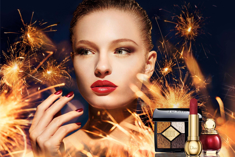 Рождественская коллекция макияжа Dior Midnight Wish 2018.