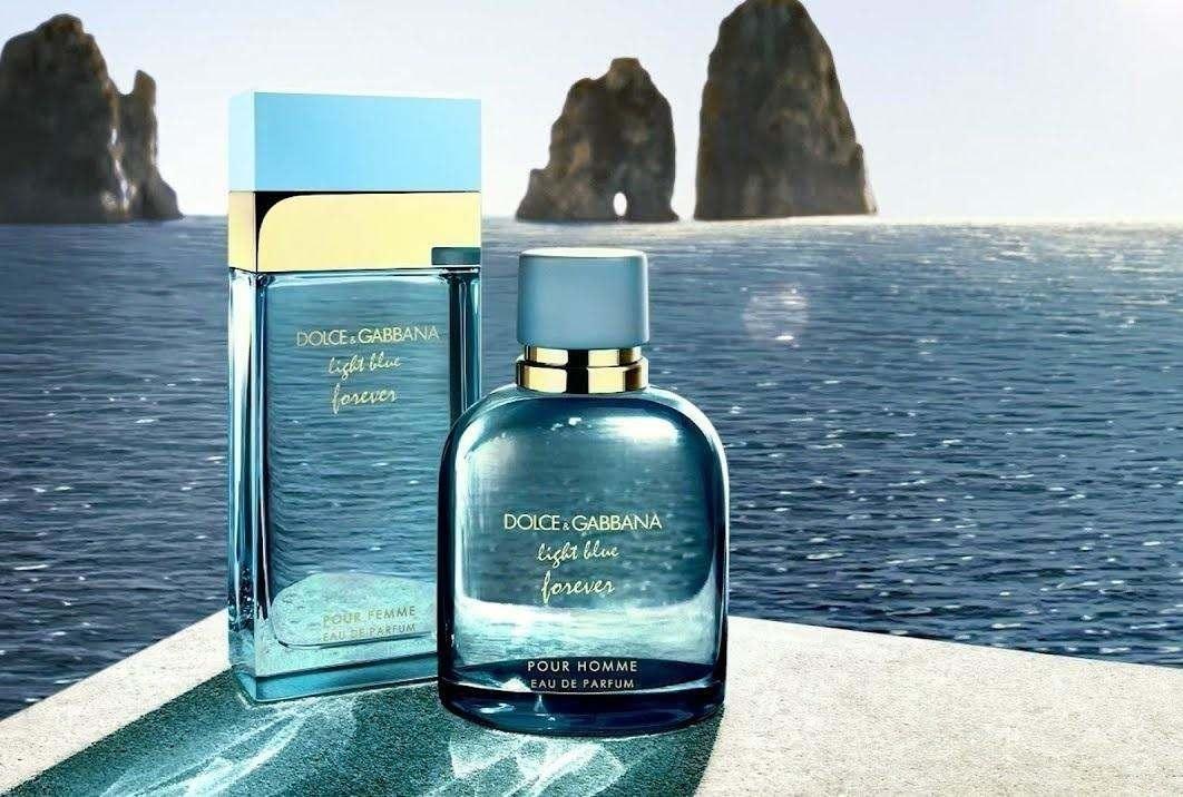 Аромати вічного кохання: Dolce & Gabbana Light Blue Forever.