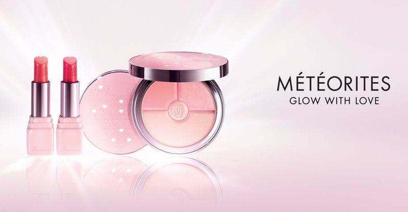 Весенняя коллекция макияжа Guerlain Meteorites Glow With Love 2018