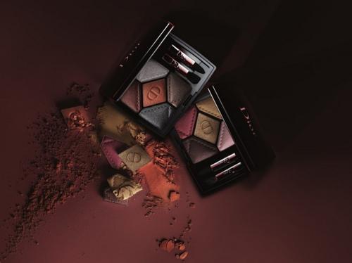 Осенняя коллекция макияжа Dior En Diable 2018.