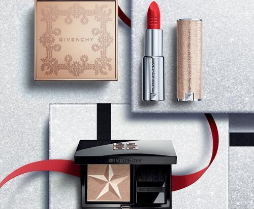 Рождественская коллекция макияжа Givenchy Mystic Glow Makeup 2018.