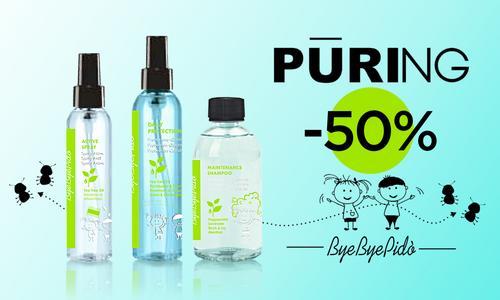 ЗНИЖКА до 50% на засоби Bye Bye Pido Maxima PURING!