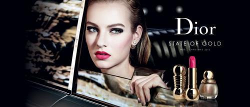 Рождественская коллекция Dior State of Gold 2015.