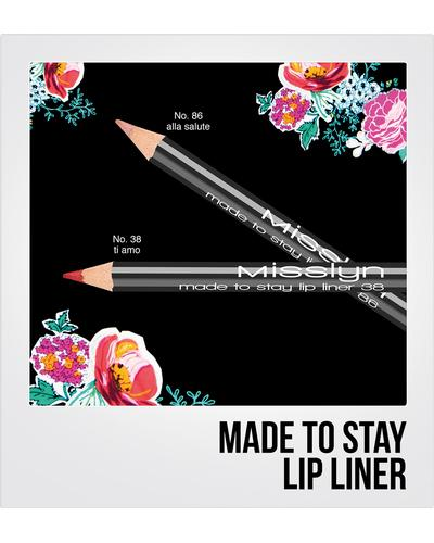 Misslyn Made To Stay Lip Liner. Фото 1