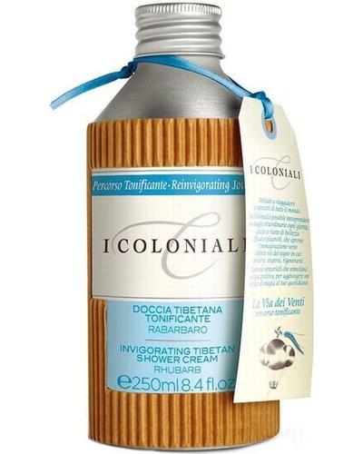 I Coloniali Invigorating Tibetan Shower Cream Rhubarb