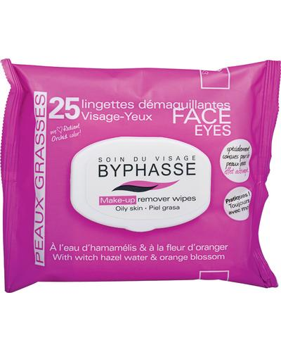 Byphasse Make-up Remover Wipes Witch Hazel Water & Orange Blossom