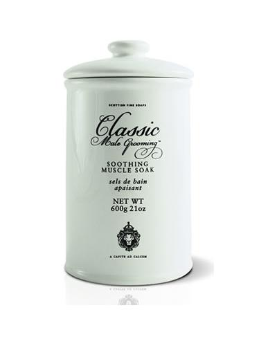 Scottish Fine Soaps Classic Male Grooming Soothing Muscle Soak