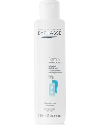 Byphasse Шампунь для всей семьи Family Shampoo Green Tea Extract