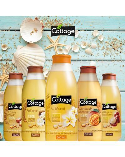 Cottage Питательное гель-масло для душа Douche Huile Precieuse Extra Nourrissante. Фото 4