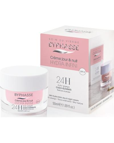 Byphasse Крем для лица  Hydra Infini Cream 24h Day And Night