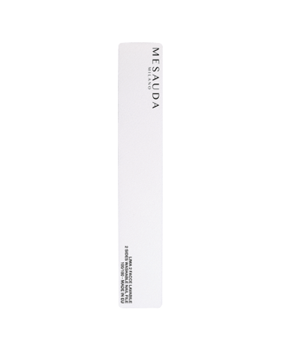 MESAUDA White Rectangular Nail File