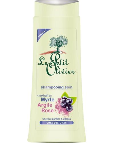 Le Petit Olivier Shampoo Myrtle Pink Clay Oily Hair